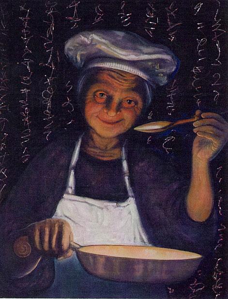 kitchen witch poem
