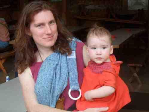 Ada and Naomi, 11 months