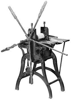 Kelton etching press